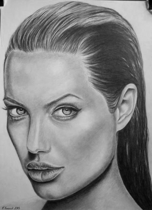Angelina Jolie par StallaPolska